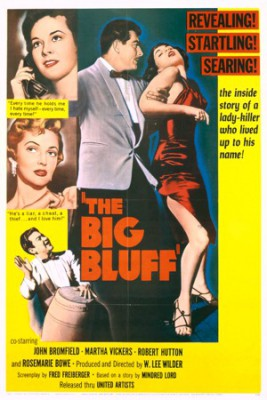 "Saturday Cinema – September 24, 2016: ""The Big Bluff"""